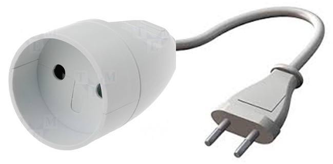 Adapter stekker